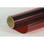 Cellophane Roll, 500mm x 2.5m, Red