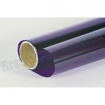 Cellophane Roll, 500mm x 2.5m, Mauve (Purple)
