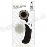 Xcut 45mm Rotary Cutter, Straight and Wavy Cut Blades Included