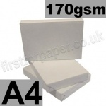 Economy 170gsm White Card, A4 - 200 Sheets