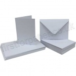 Pegasi, Smooth White A6 Card Blanks and Envelopes