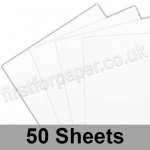 Pegasi, Thin Card Pack, Smooth White, 12 x 12 inch, 50 sheets
