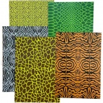 Animal Print Card, 15 Assorted Sheets