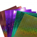 Holographic Card, 8 Assorted Sheets
