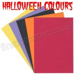 Pegasi, Halloween Themed Coloured Card, 20 A4 sheets