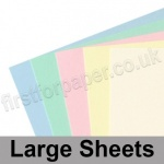 Craft & Hobby, Card Pack, Pastel Shades, 25 large sheets