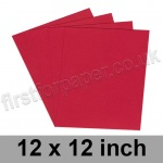 Rapid Colour Paper, 120gsm, 305 x 305mm (12 x 12 inch), Blood Red