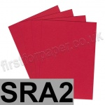Rapid Colour Paper, 120gsm, SRA2, Blood Red