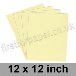 Rapid Colour Paper, 120gsm, 305 x 305mm (12 x 12 inch), Bunting Yellow