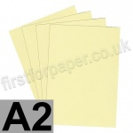 Rapid Colour Paper, 120gsm,  A2, Bunting Yellow