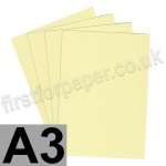Rapid Colour Paper, 120gsm,  A3, Bunting Yellow