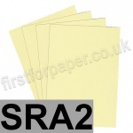 Rapid Colour Paper, 120gsm,  SRA2, Bunting Yellow
