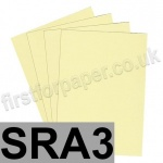 Rapid Colour Paper, 120gsm,  SRA3, Bunting Yellow