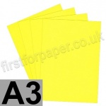 Rapid Colour Paper, 120gsm,  A3, Canary Yellow