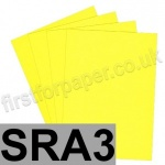 Rapid Colour Paper, 120gsm,  SRA3, Canary Yellow