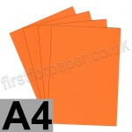 Rapid Colour Paper, 120gsm,  A4, Fantail Orange