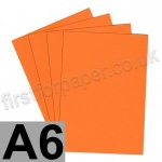 Rapid Colour Paper, 120gsm,  A6, Fantail Orange