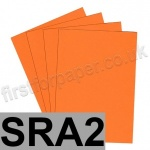 Rapid Colour Paper, 120gsm,  SRA2, Fantail Orange