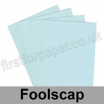 Rapid Colour Paper, 120gsm,  203 x 330mm (Foolscap), Ice Blue
