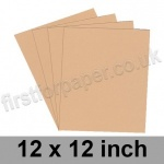 Rapid Colour Paper, 120gsm, 305 x 305mm (12 x 12 inch), Lapwing Brown