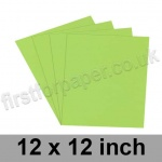 Rapid Colour Paper, 120gsm, 305 x 305mm (12 x 12 inch), Lime Green