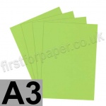 Rapid Colour Paper, 120gsm, A3, Lime Green