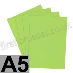 Rapid Colour Paper, 120gsm, A5, Lime Green