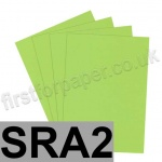 Rapid Colour Paper, 120gsm, SRA2, Lime Green