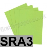 Rapid Colour Paper, 120gsm, SRA3, Lime Green