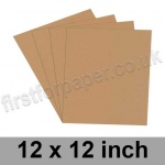 Rapid Colour Paper, 120gsm, 305 x 305mm (12 x 12 inch), Nougat Brown