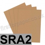 Rapid Colour Paper, 120gsm, SRA2, Nougat Brown
