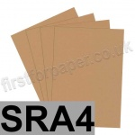 Rapid Colour Paper, 120gsm, SRA4, Nougat Brown
