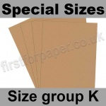 Rapid Colour Paper, 120gsm, Special Sizes, (Size Group K), Nougat Brown