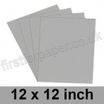 Rapid Colour Paper, 120gsm, 305 x 305mm (12 x 12 inch), Owl Grey