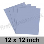 Rapid Colour Card, 160gsm, 305 x 305mm (12 x 12 inch), Pigeon Blue