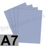 Rapid Colour Card, 160gsm, A7, Pigeon Blue