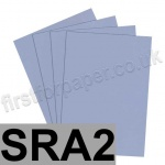 Rapid Colour Card, 160gsm, SRA2, Pigeon Blue