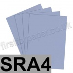Rapid Colour Card, 160gsm, SRA4, Pigeon Blue
