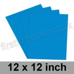 Rapid Colour Paper, 120gsm, 305 x 305mm (12 x 12 inch), Rich Blue