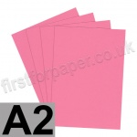 Rapid Colour Paper, 120gsm, A2, Rose Pink