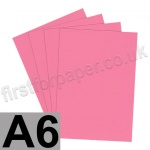 Rapid Colour Paper, 120gsm, A6, Rose Pink