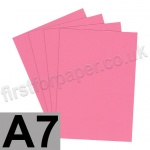 Rapid Colour Paper, 120gsm, A7, Rose Pink