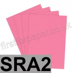 Rapid Colour Paper, 120gsm, SRA2, Rose Pink