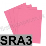 Rapid Colour Paper, 120gsm, SRA3, Rose Pink