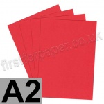 Rapid Colour Paper, 120gsm, A2, Rouge Red