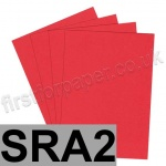 Rapid Colour Paper, 120gsm, SRA2, Rouge Red