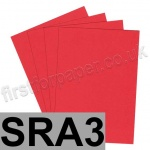 Rapid Colour Paper, 120gsm, SRA3, Rouge Red