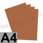 Clearance Card, 240gsm, A4, Rust Brown - 50 sheets