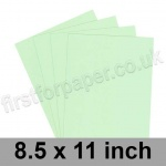 Rapid Colour Card, 160gsm, 216 x 279mm (8.5 x 11''), Tea Green