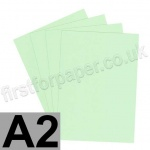 Rapid Colour Card, 160gsm, A2, Tea Green